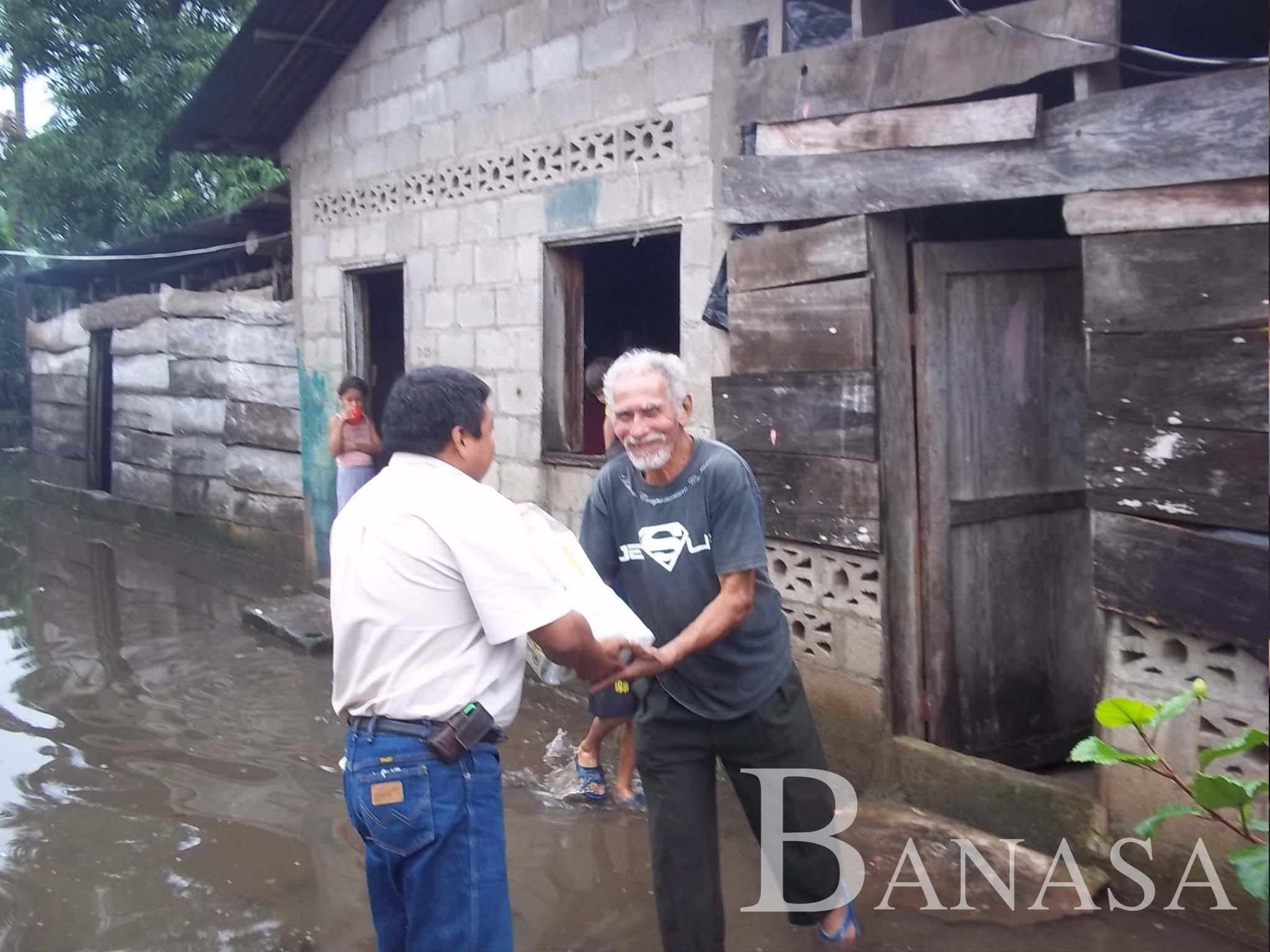 BANASA DONA VÍVERES A 800 FAMILIAS DAMNIFICADAS POR LA TORMENTA TROPICAL EN GUATEMALA