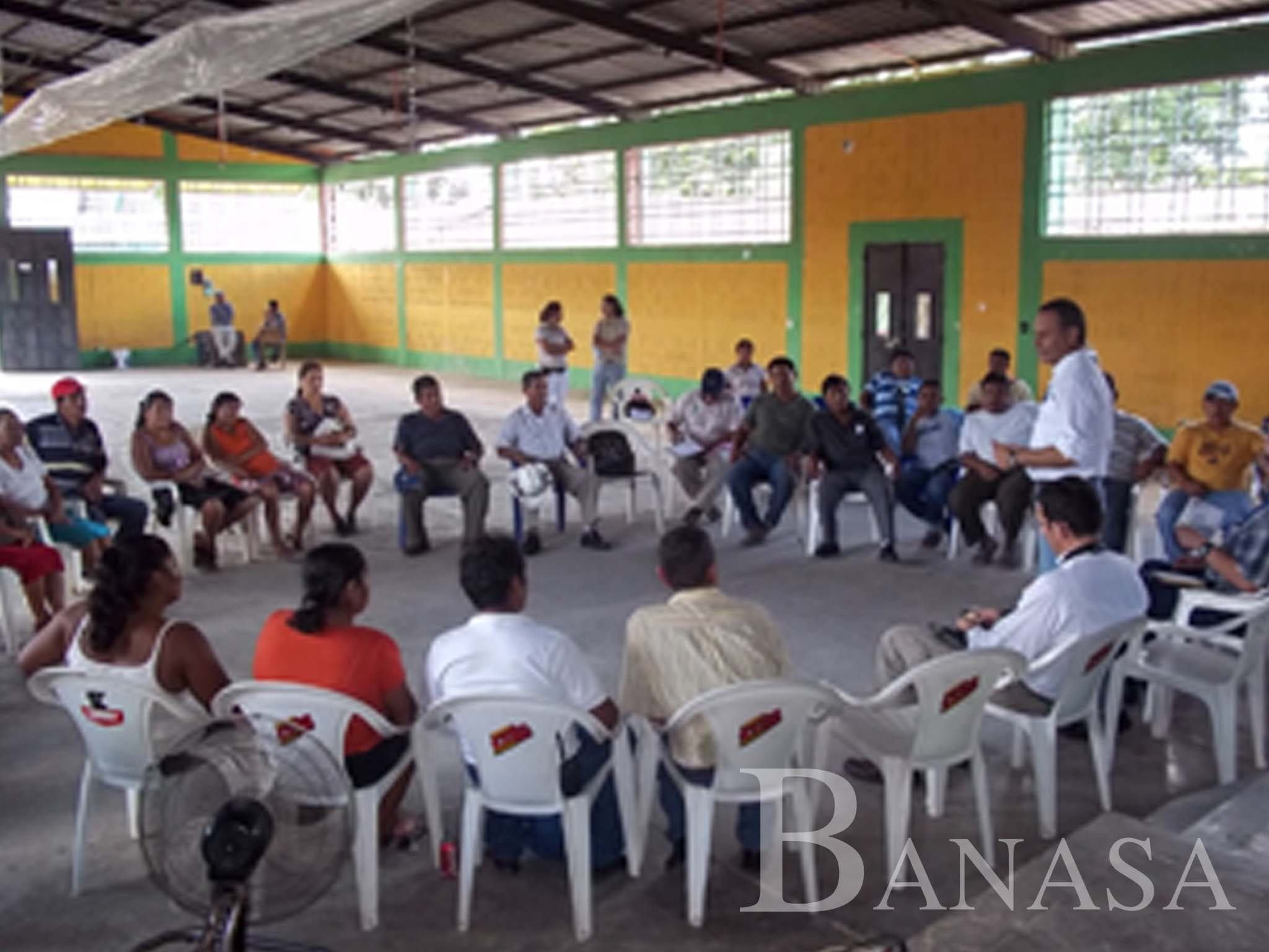 BANASA JUNTO A LÍDERES COMUNITARIOS DEL TRIFINIO SUROESTE DE GUATEMALA, RECIBE VISITA DEL SECRETARIO EJECUTIVO DE LA CONRED