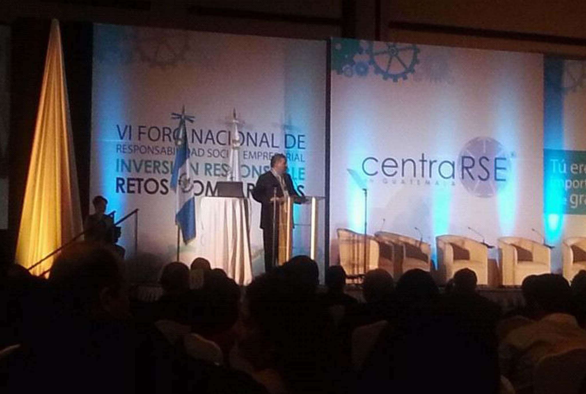LÍDERES COMUNITARIOS DEL ÁREA DEL TRIFINIO SUROESTE DE GUATEMALA SON INVITADOS POR AGROAMÉRICA AL FORO NACIONAL 2010