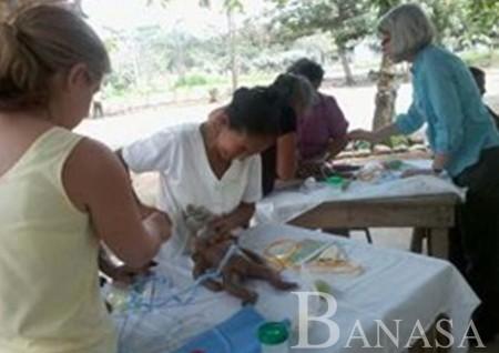Centro de Desarrollo Humano de Banasa capacita a comadronas